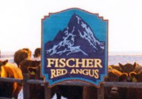 Fischer Red Angus Sign